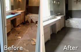 Before and After Builders Cleaning