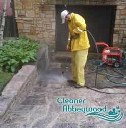 Pressure Patio Cleaning abbey wood