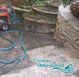 Stone Patio Cleaning