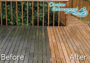 Before and After Jet Washing Service